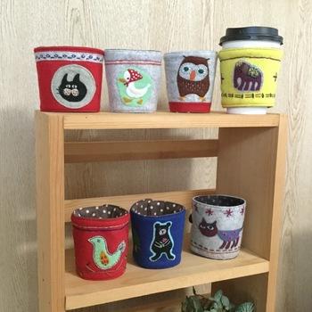 好きな動物の柄にするのも◎。棚に並べて飾っても可愛いですし、子供たちも喜ぶこと間違いなしです!