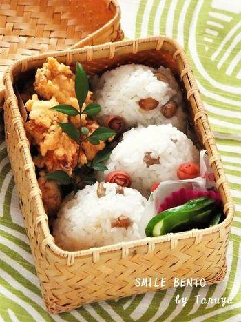 炒り大豆を使った、シンプルな味付けの炊き込みご飯レシピです。 どこか懐かしい、ほっこりとする味わいに。