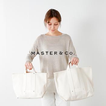 『master&co(マスターアンドコー)』は日本初のファッションブランドで、海外の素材と日本の技術を合わせたジャパンメイドを発信し続けています。  シンプルで機能性も抜群の定番スタイルに、技術やファッション性、着やすさなどのエッセンスをプラスして、新しいアイテムを生み出しているブランドです。