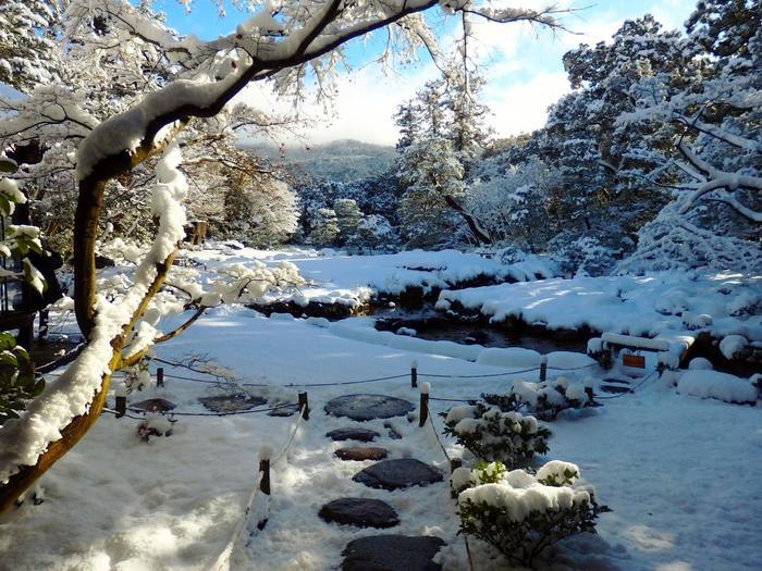 【南禅寺界隈別荘群の一つ「無鄰菴」】