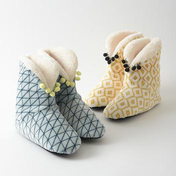 さむ~い日は足首までしっかりと包み込む暖かなブーツタイプはいかが?「「BRUNO(ブルーノ)」のルームブーツは、フワフワモコモコの内側素材で冷えやすい足元をしっかりと暖めてくれます。