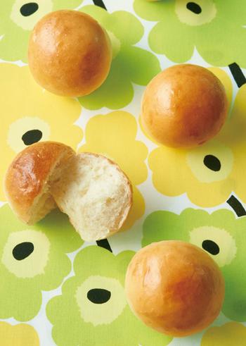 ぱっかんサンドにぴったりのパンを自分で作りたい!という方には、こちらの丸パンはいかがでしょう?初心者の方でもふっくらふわふわに焼けるそう。添加物一切なしの手作りパンは、一度食べるとやみつきになる美味しさですよ♪