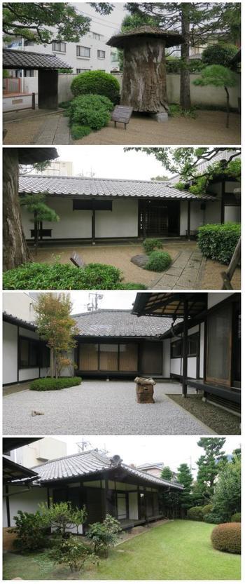 平櫛田中の彫刻は、比較的小さな木彫りなどが多く、とても繊細なものや愛嬌があるものなど、心なごませてくれます。 敷地内に平櫛氏の自邸がそのまま保存・展示されています。
