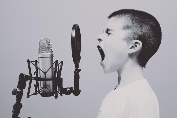 英語は、音の焦点が口の前方にあると言われています。あまり意識することがないので、ピンと来ないかもしれませんが、実は日本語はどちらかというと「口の奥」や「喉」に置くことが多いとのこと。