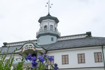こんなおしゃれな学校に通う気分はどんなものだったのでしょう♪昭和38年に移転され、その2年後から教育博物館として親しまれている建物です。