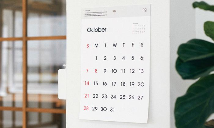 一年間お部屋に飾るものだから、気に入ったものが良いですよね。デザインで選ぶも良し、機能性で選ぶも良し・・・色々なカレンダーを見比べて納得のいく一枚を見つけてくださいね。