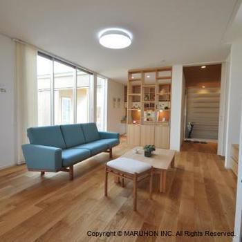 基本的に「部屋にあまり家具を置かない」事を心がけることで、フローリングはお掃除しやすくなります。