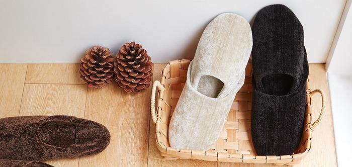 秋冬シーズンの必需品。お気に入りの「スリッパ・ルームシューズ」でほっこりあったか生活