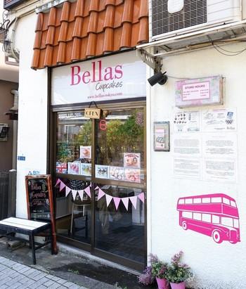 白金高輪の住宅地の一角にある、小さなカップケーキ店。元々はナショナル麻布スーパーマーケットでフードトラック販売をしていましたが、人気が高じて実店舗をオープンしました。