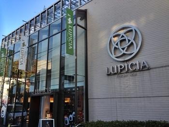 紅茶好きなら知らない人はいない!? 紅茶、フレーバーティーのほかハーブティー、中国茶、日本茶まで扱うお茶の専門店『ルピシア』の本店です。こちらは2階がカフェになっていて、『ルピシア』のお茶をいただくことができます。