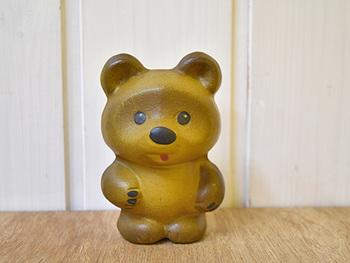 1960年代、旧ソビエト連邦版の「ヴィニープフ」(クマのプーさん)がモチーフ。