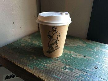 インスタグラムなどでも見かけるこのカップもおしゃれ。もちろん見た目だけでなく、コーヒーの味も本格的。ドリップコーヒーは1杯ずつ丁寧に淹れてくれます。代々木公園に持って行って飲むとさらにおいしくいただけそうですね。