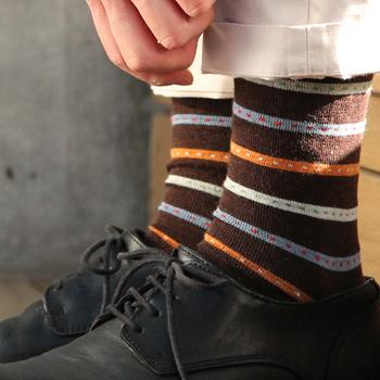 ウールなのに薄手でどんな靴にも合わせやすいスウェーデン「BENGT&LOTTA(ベングト&ロッタ)」のソックスコレクション。