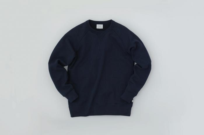 ヴィンテージといわれるスウェットシャツのほとんどは、この生地が使われているとか。
