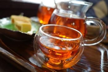 夏はかき氷も大人気ですが、お茶の種類も多く選ぶのが楽しくなりそう。オリジナルブレンドのものやリラックス効果が期待できるものもあります。
