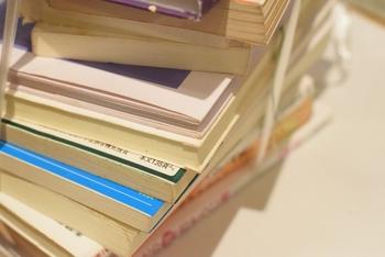 また読むかもしれないから…と取っておいた本たち。 断捨離の基準は「現状、自分が最も大事としている分野の情報が載っている本」「定期的に読み返す本」のみ残しておくということ。インテリアとしても使える写真集なども取っておいてもいいかもしれません。
