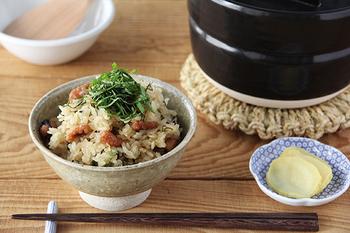 いかがでしたか?旬の秋の味覚使ったお料理とあたたかな和食器で器で、秋の食卓を素敵に演出してみてくださいね♪