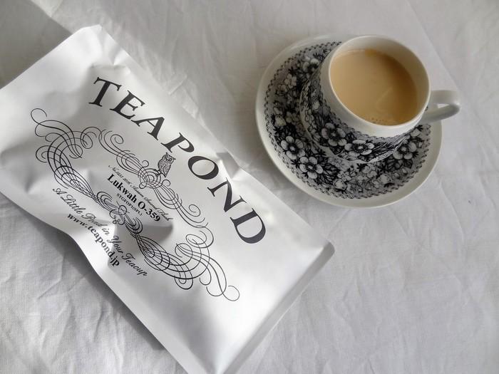 イチオシはミルクティー。ティーバッグ1個あたり5gの茶葉を贅沢に使ったミルクティーは濃厚な味わいが魅力です。専門店の味が手軽に楽しめることから、おうちだけでなくオフィス用に購入する女性も多いんだとか。  ミルクたっぷりの紅茶は寒い日のティータイムにぴったり。