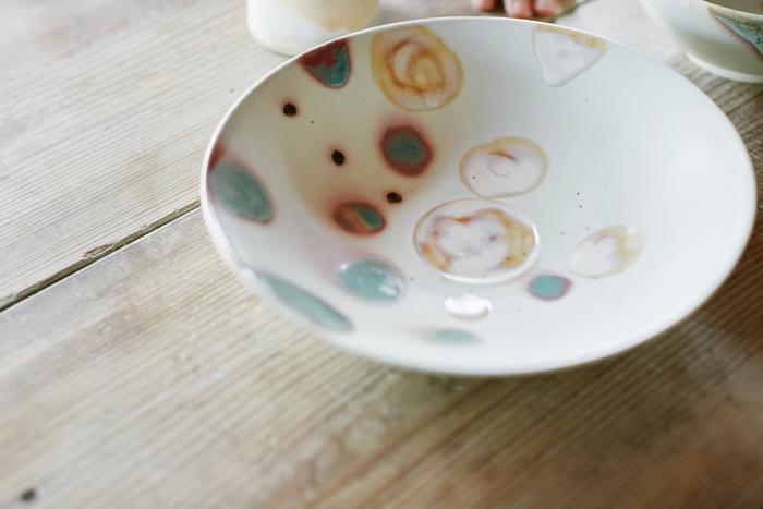 水彩画のような「ヌガー」。こちらは「お菓子のヌガーに似てるから」と名前がつけられました