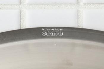 その燕市で、1977年に創業したキッチン道具全般の開発や製造を手がけている「一菱(いちびし)金属株式会社」と、デザイナーの小野里奈氏、バイヤーの日野明子氏などのコラボにより誕生したブランド「conte」。