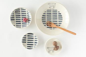 和食器というカテゴリーを越えて、北欧食器などにも相性ばっちりなのでテーブルコーデも楽しめそうです。