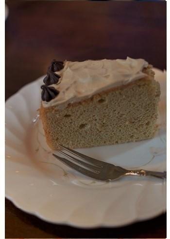 『ハーブ&モカのケーキ』。