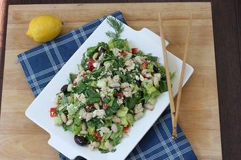 最後の一口までずっと美味しい◎野菜がたくさん食べられる「チョップサラダ」の魅力