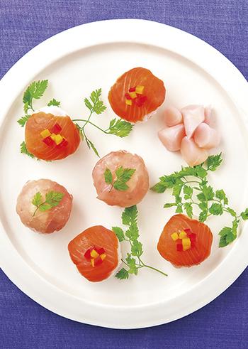 市販の新生姜の漬物を混ぜるだけで、お手軽に変わりご飯の手まり寿司が作れます♪生姜が好きな人はぜひ試してみてくださいね。