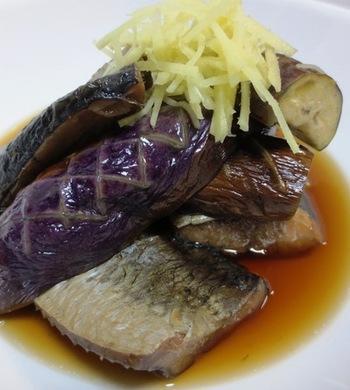 京都のおばんざいの代表格、茄子と身欠きにしんの炊いたんのレシピ。にしんの旨味がなすに染み、こっくりとした味わいに。白ごはんのおかずにもぴったりです。