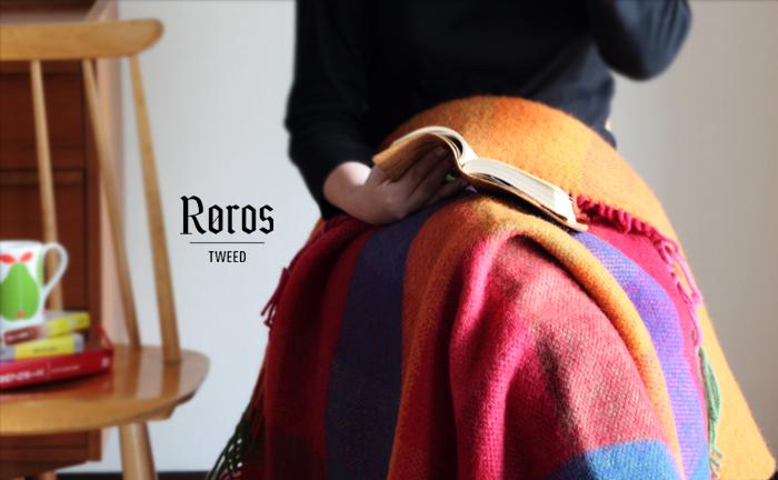 「ロロスツイード」は、1938年にノルウェーの小さなまち「ロロス」で設立されました。ロロスはユネスコの世界遺産にも登録されており、自然に囲まれた美しいまち。17世紀には銅鉱山のまちとして栄え、18世紀には鉱山の管理者が貧しい人々に遺産を残したのだそう。その基金が受け継がれ、ロロスツイード社が設立されました。
