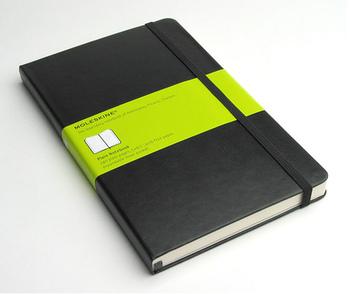 モレスキンのノートは、カバーの種類、色、サイズ、用紙の種類が豊富で、用途にあった使いやすいノートが必ず見つかると、評判!旅ノートにおすすめなのは、ポケットサイズのスクエアード(方眼)。スケッチにもメモにも使いやすい5ミリの方眼入りです。