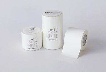 より美しく発色させたい場合は、下貼り用のテープもあるので安心ですよ。