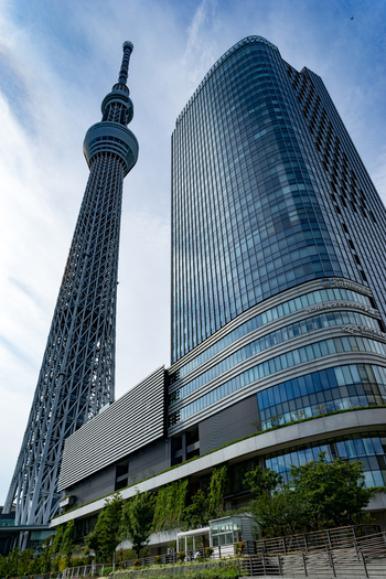 現存する電波塔として世界第1位の「東京スカイツリー」は、東京に来たならば押さえておきたいスポットですね。