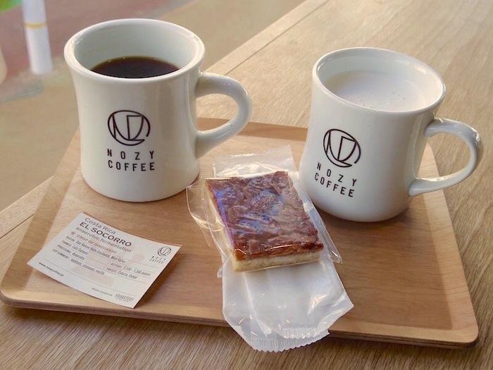 自信があるからシングルオリジンにこだわることができるんですよね。浅煎りのフレッシュな風味を楽しめるコーヒーやラテは、さっぱりといただくことができます。