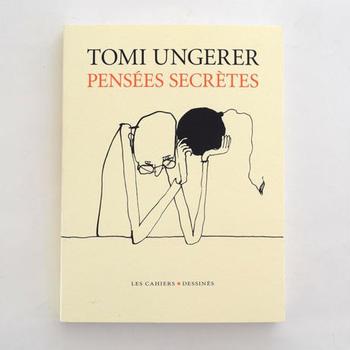 名作絵本「すてきな三にんぐみ」で知られる作家、トミ・ウンゲラーのドローイング集。絵本とは違う大人の世界が広がっています。