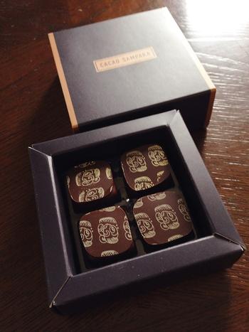 せっかく、チョコレートの名店に訪れたならお土産も買ってかえりたいところ。幻のカカオとも呼ばれる、レアルクリオロ種のカカオを使ったダークチョコレートは、純粋にカカオの味を楽しめると評判です♪