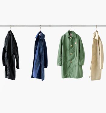 機能性も◎、デザインも可愛らしく上品で◎の、ダントンのコート&ジャケット。 シンプルだけど、ぐっとお洒落になりますよ。 シャツやバッグなどの気になるアイテムと一緒に、ぜひ取り入れてみてくださいね。