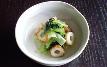 味を染み込ませる為に時間が掛かりがちな炊いたんですが、菜っ葉なら手早く作れてお役立ち。こちらのレシピなら、あっという間の10分で作れますよ。