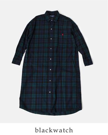 シャツが人気の「ジムフレックス」。冬の定番ならこのロングチェックシャツが素敵です。ビエラ起毛の暖かな素材が優しい雰囲気を醸し出してくれます。