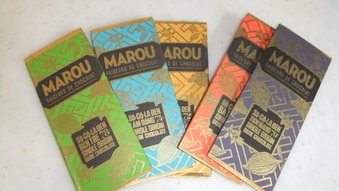 フランス発「MAROU」のチョコレートは、それぞれ一つのチョコレートに一つの産地のカカオしか使わないシングル・オリジン。最高の状態で届けられたチョコレートは、産地特有のカカオの風味を味わえます♪