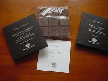 チョコレートの巨匠「Pierre Marcolini」から2015年バレンタインギフトシリーズとして発売されるタブレット。