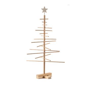 シンプル&スタイリッシュな印象に一目惚れしてしまいそうなクリスマスツリー♪組み立てやすく、コンパクトに片付けられるのも魅力。オーナメント次第で、いろいろな雰囲気を楽しめます。