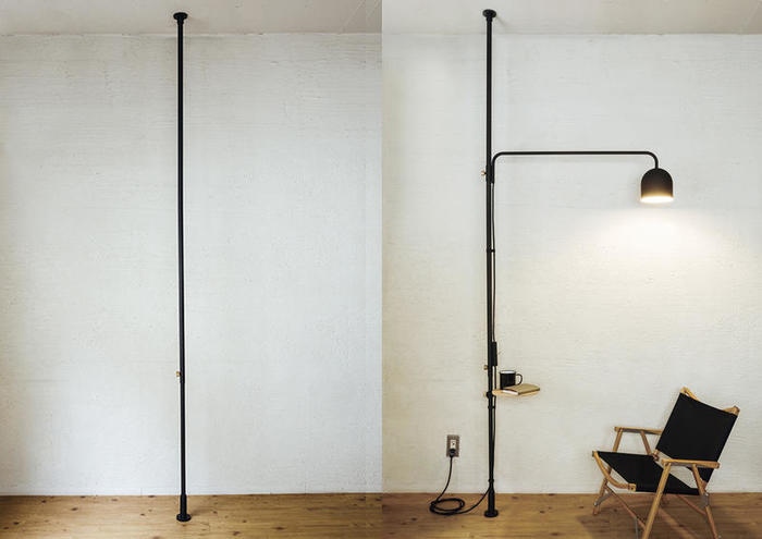 壁面を傷つけることなく、収納を増やせる点も◎