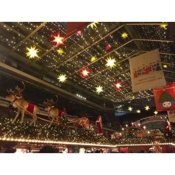 グリューワインやソーセージなどの本格的なドイツ料理が楽しめるお店や、クリスマス雑貨を扱うお店など11店舗が出店予定です。クリスマス雑貨は、なんと1000種類以上もあるようです♪