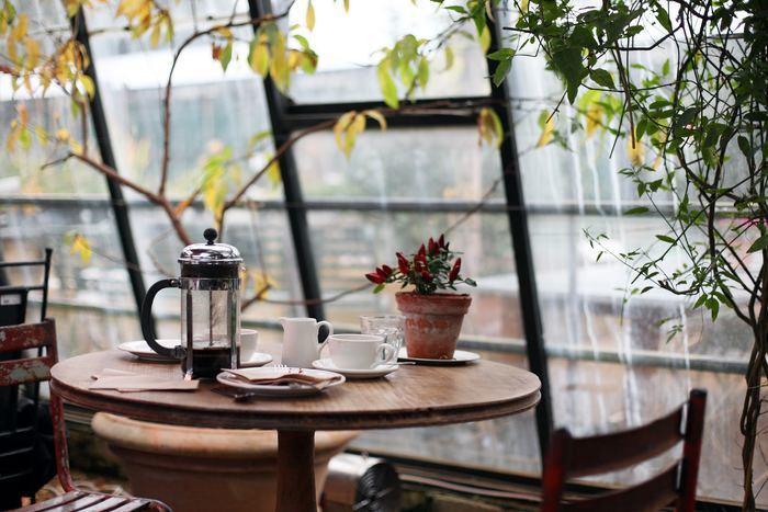 紅茶でおなじみのフレンチプレス式ですが、コーヒー豆のオイルや香味成分があますことなく味わえると人気の淹れ方です。お湯を注いで、上部のつまみを押し下げるだけと簡単なので、忙しい方にもぴったり。