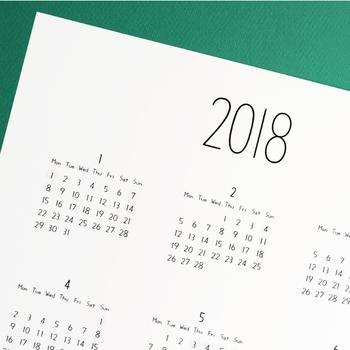 1年の終わりが近づくと、文房具屋さんや雑貨屋さんに来年のカレンダーが並び始めますね。 毎日の生活に無くてはならないアイテムは、お気に入りのものを使いたいですよね。