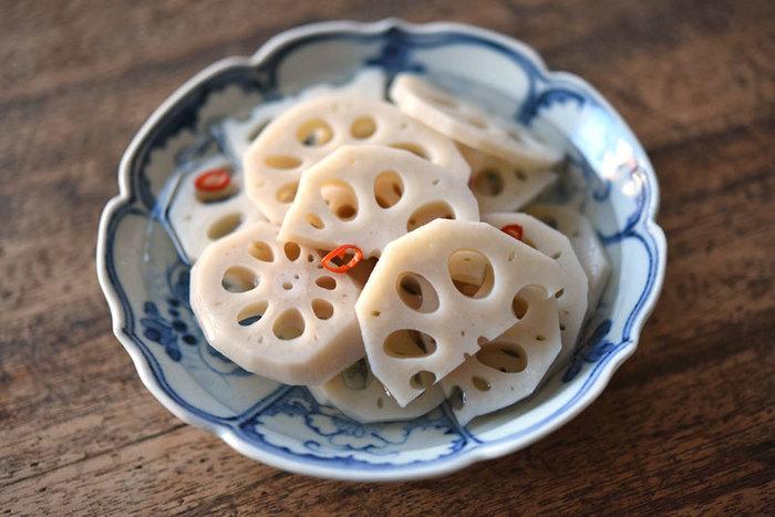 シンプルで日本人好みのお味です。さっぱりとした酸味と唐辛子のアクセントが絶妙!