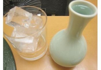 """鹿児島といえばさつま焼酎。こちらは「伊佐美」という""""幻の""""焼酎。"""