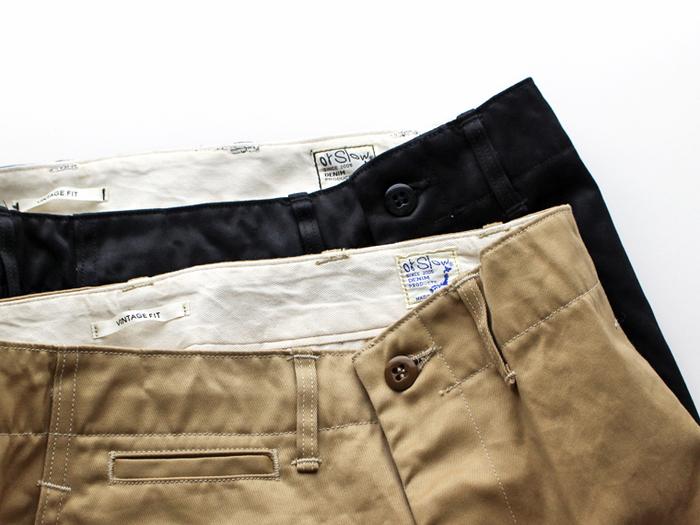 「orSlow(オアスロウ)」は、企画・パターン・サンプルの縫製まで、すべて自社のアトリエで行なっているファッションブランドです。 アトリエには、デニムの量産工場と同じ16種類もの工業用ミシンが揃っており、デザイナーが手作業でサンプルを縫製しているそう。
