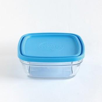 フランスのホテルやお店、家庭の定番品として広く愛用されている「DURALEX」の保存容器。本体がガラスでフタがプラスチックの組み合わせですが、強化ガラス使用で衝撃に強く、丈夫なところが魅力!食器洗浄機にも問題なく使えます。